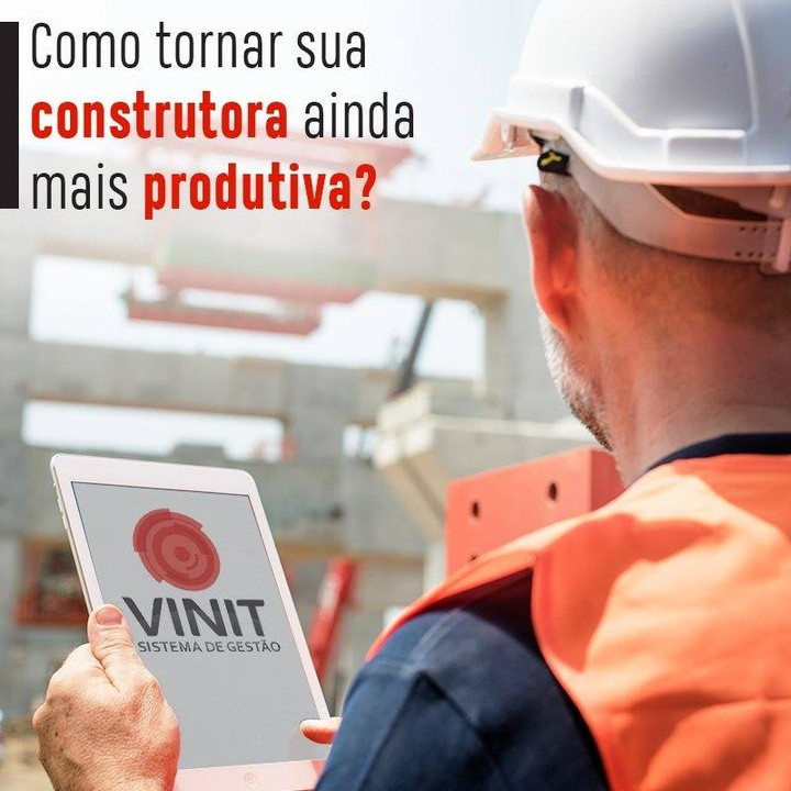 TECNOLOGIA ELEVA PRODUTIVIDADE NA CONSTRUÇÃO CIVIL